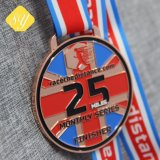 Специализированные спортивные награды эмаль медаль медали на заводе