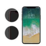 l'enduit Oleophobic de protecteur d'écran en verre 2.5D Tempered Anti-Rayent pour l'iPhone X d'Apple