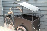 250W/350W/500W E Elektrische Bakfiets/eléctrica Trike de Carga/Carga e Moto triciclo de carga/familia/3 rueda de bicicleta de carga/Entrega de los niños Trike W cojín y Suncanopy