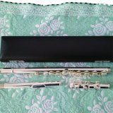16 Open Holes Silver Plated Flute