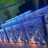 Écran extérieur de l'Afficheur LED P8 avec de bons Modules imperméables à l'eau de fer 1024 * 768 millimètres