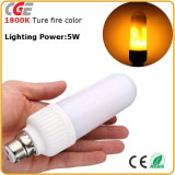 Светодиодный индикатор эффект пламени имитация характер пожара кукурузы лампы E26 E27 B22 лучшая цена светодиодные лампы светодиодные лампы