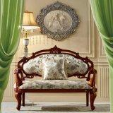 Presidenza di salotto classica del Chaise del tessuto per mobilia domestica (92Y)