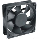 Las hojas de plástico de ventilación refrigeración Ventilador Axial de DC (SF12038)