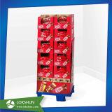 La navidad de cartón Pop Mostrar Rack para regalos