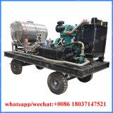 diesel van de Machine van Jetter van het Water van de Hoge druk 500bar -1500bar de Schoonmakende Met motor
