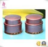 Vaso crema di ceramica cosmetico di colore rosa caldo
