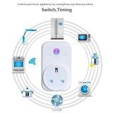 Britse van de afstandsbediening Standaard Slimme Contactdoos WiFi