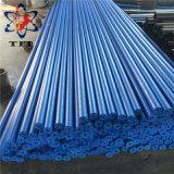 파란 각자 윤활 UHMWPE 관 또는 관