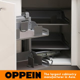Madera contrachapada plana estándar toda del borde E1 en las cabinas de una cocina de acrílico de la unidad DIY (OP15-011)