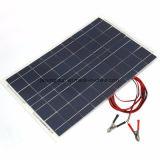 panneau solaire polycristallin de picovolte du rendement 65W grand pour le petit système de production d'électricité