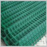 Proteger com revestimento de PVC de malha de arame de aço soldadas Suprimento de fábrica