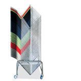 Diseño simple de la Reunión Silla con asiento y respaldo de plástico