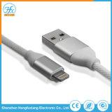 Custimized 5V/2.1A USB Data Cable de carga un rayo para teléfono móvil