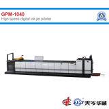 Máquina Impresora de inyección de tinta digital de alta velocidad [GPM-1040]