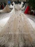 Aolanes nova chegada Fractius Moda vestido de casamento