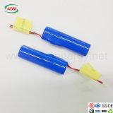 De Exporteur Lir van China 18650 3.7V 2000mAh met PCM de Batterij van het Lithium