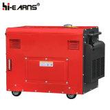 groupe électrogène diesel silencieux de la couleur 6kw rouge (DG8500SE)