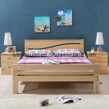 Festes hölzernes Bett-moderne doppelte Betten (M-X2342)