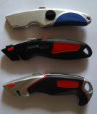 Cuchillo utilitario, cuchillo de aluminio de la carrocería, cuchillo de la carrocería del cinc