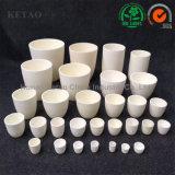 Alluminio di fusione del crogiolo di ceramica del laboratorio 99 Ai203