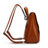 Style Preppy Lady cuir synthétique sac à dos Sac d'école (WDL00932)