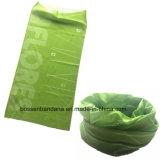 Sciarpa blu del tubo del collo del poliestere stampata disegno personalizzata prodotti della fabbrica