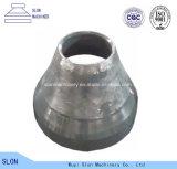 Mangan-Stahl Sandvik CH440 konkav und Umhang-Kegel-Zerkleinerungsmaschine-Teile