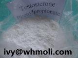 Тестостерон Phenylpropionate порошка CAS 1255-49-8 белый кристаллический стероидный