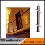 Großhandelsinnen-/AußenEdelstahlbaluster-/glas, das für Balkon ficht