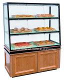 Showcase do gabinete de indicador do pão com alta qualidade