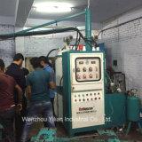靴の作成のための中国のバナナのタイプPUの注ぐ機械