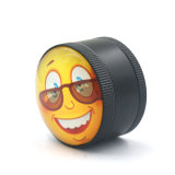 de Molen van het Kruid van de Daling van de Glimlach van de Legering van het Zink 3layers 50mm voor de Pijp van de Sigaret