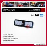 Indicatore luminoso d'avvertimento di superficie della visiera del supporto LED (LTDG17)