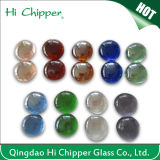 Lanscaping Glass Sand Crush Light Amber Glass Chips Vidro decorativo