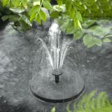Água decorativa Mini-Painel Solar Fountain Paisagem Garden Pool Solar da Bomba da Bomba de Água