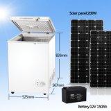 солнечный приведенный в действие замораживатель DC холодильника холодильника 108L глубокий