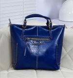レディースレザーハンドバッグトートバッグ/卸売レディースファッションエレガンスレザーショルダーバッグ