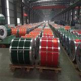 PPGI ha galvanizzato la bobina d'acciaio, bobina d'acciaio galvanizzata ricoperta colore