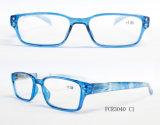 Novo na moda a prescrição de plástico óptico de qualidade óculos de leitura