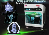Máquina de gravura de laser interna 3D para cristal / vidro