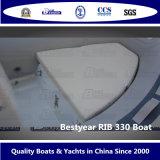 Rib330Aの2011模型のボート