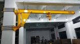 Tipo grúa voladiza rotatoria montada en la pared de Bx