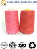 Hilo de coser del bordado del poliester para coser