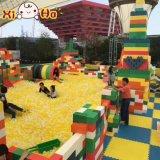 Xiha Fantasie-weicher Schaumgummi-pädagogischer Spielzeug PPE-Baustein-Spielplatz