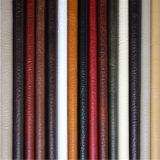 Couro sintético do PVC do fabricante de China para a mobília (688#)