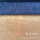 Configuration de fleur de tissu de polyester et de velours côtelé de nylon gravée en relief pour le sofa