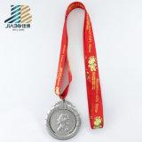 リボンのハンガーが付いている工場供給亜鉛合金OEMカスタムTaekwondoのメダル
