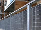Загородка горячего DIP ISO гальванизированная стальная Grating