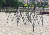 Bewegliches im Freienhochzeits-Zelt knallen oben Kabinendach mit nützlichen Seitenwänden